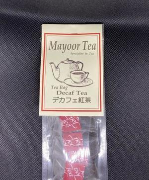 デカフェ紅茶
